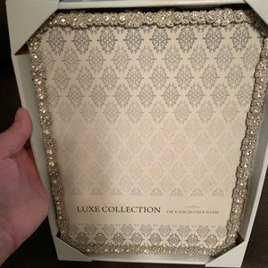 Brand new 8x10 jeweled picture frame